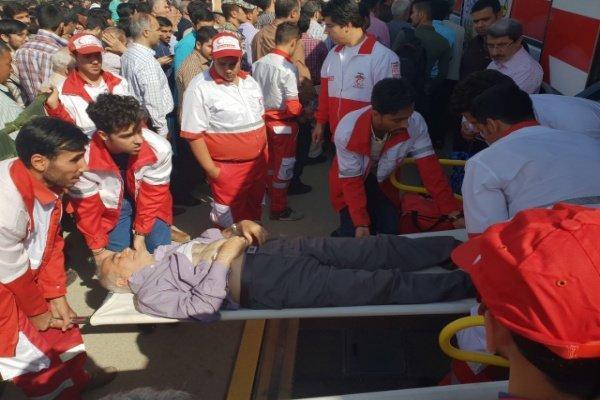 پوشش امدادی جمعیت هلال احمر گلستان به 47 حادثه طی یک هفته گذشته