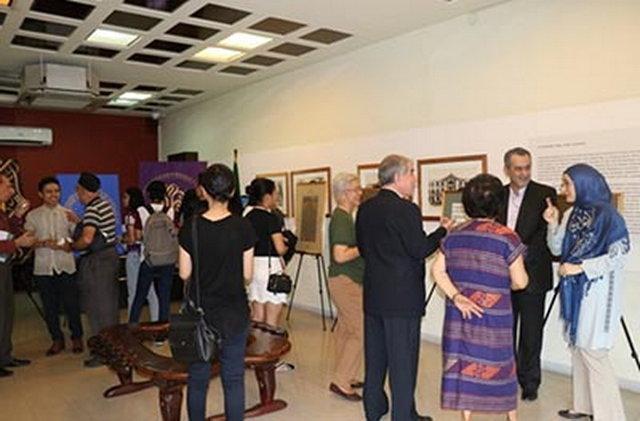نمایشگاه خوشنویسی هنر صلح در فیلیپین
