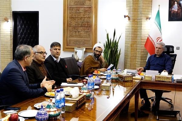 دیدار رئیس سازمان میراث فرهنگی با نماینده مردم استان مرکزی
