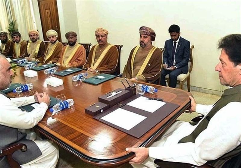 دیدار هیات مجلس عمان با عمران خان و مصاحبه درباره مساله کشمیر