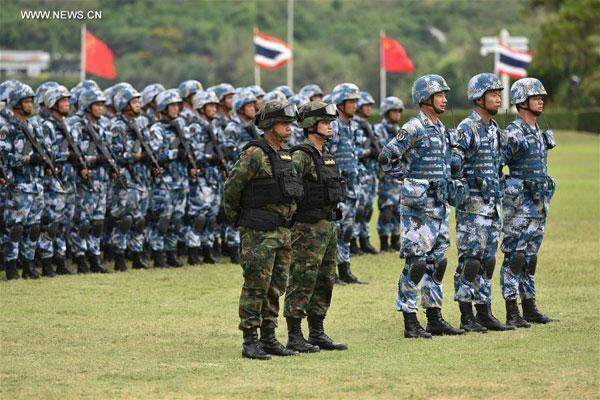 رزمایش مشترک نیرو های هوایی چین و تایلند