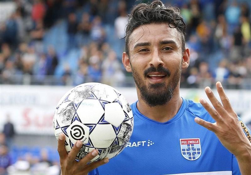 قوچان نژاد در جمع 5 بازیکن برتر هفته ششم اردویژه هلند
