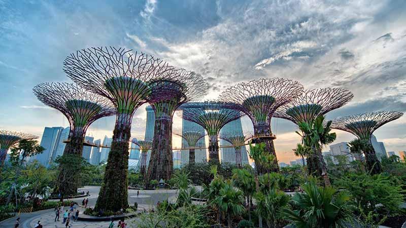 گشت و گذار در سنگاپور