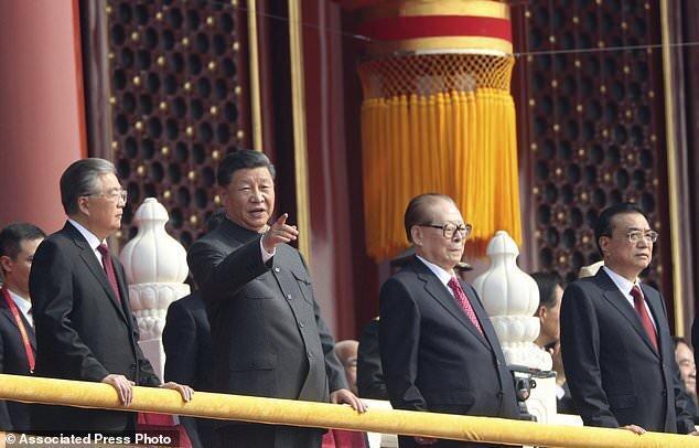 رژه نظامی چین برای گرامیداشت هفتادمین سالروز تاسیس جمهوری خلق