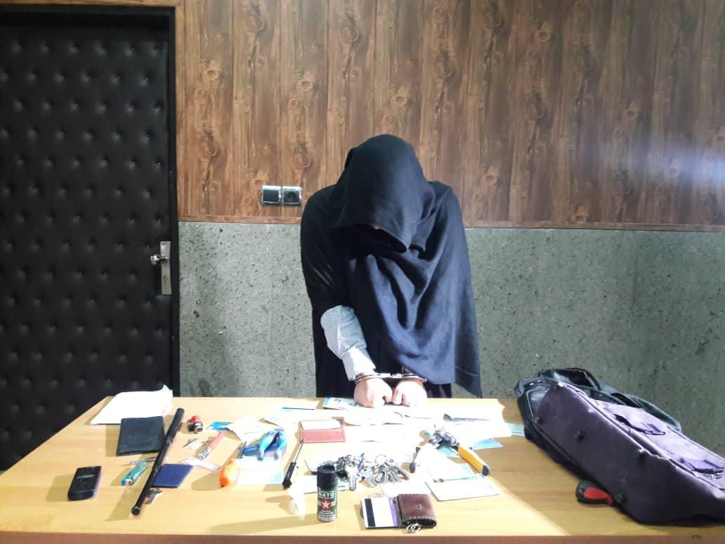 سرقت از خانه زن تهرانی با پوشش زنانه!