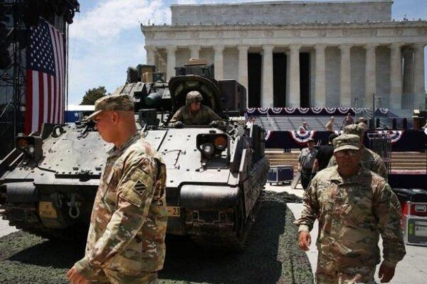 فرماندهی تروریست های آمریکا: از پایگاه العدید در قطر نمی رویم