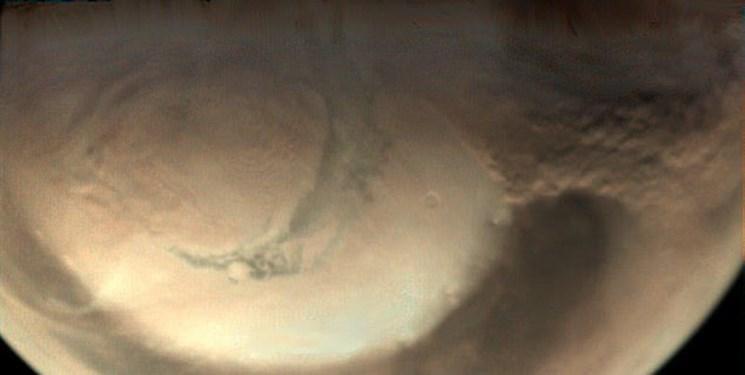 عکس حیرت انگیز اتحادیه اروپا از مریخ