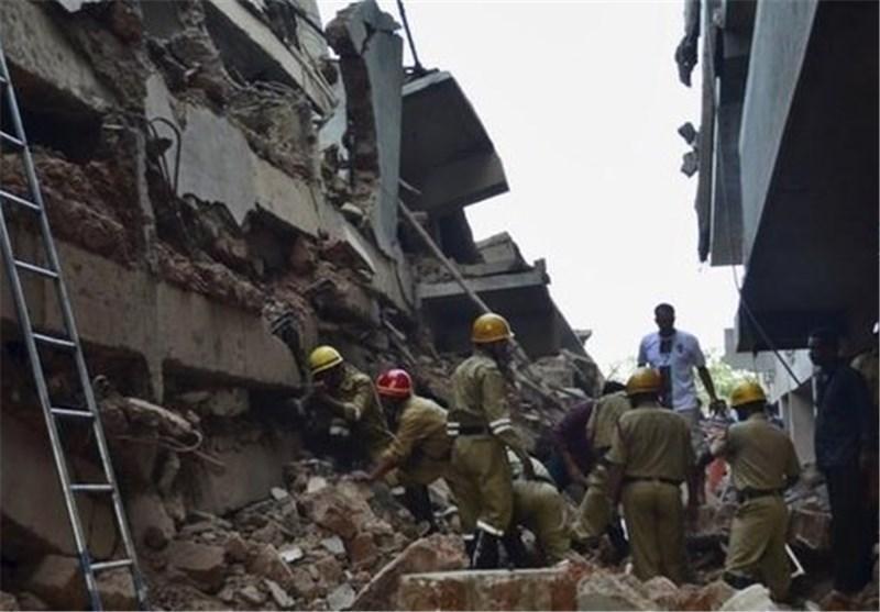 ریزش یک بیمارستان در حال ساخت در تایلند موجب مرگ 11 نفر شد