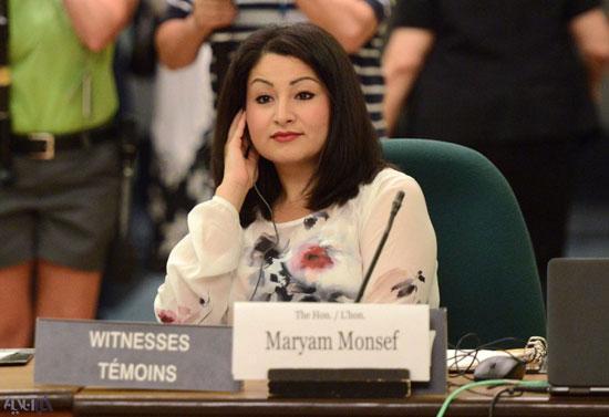 وزیر کانادایی، مشهدی از آب درآمد