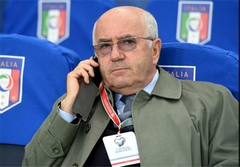 محرومیت سنگین یوفا برای رئیس فدراسیون فوتبال ایتالیا