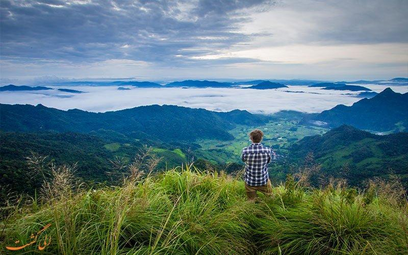 مقصدی عالی برای سفرهای زمستانی، کوه فو چی فاه چیانگ رای تایلند