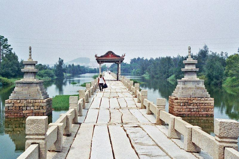 آنپینگ، طولانی ترین پل باستانی چین