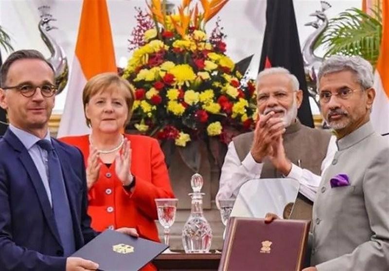 امضا 17 تفاهم نامه همکاری بین آلمان و هند