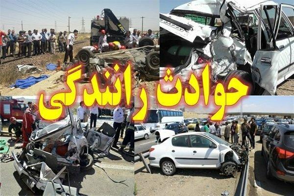 9 کشته و مصدوم در سانحه رانندگی محور اهواز -خرمشهر