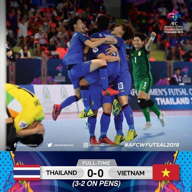 سومی تایلند میزبان در فوتسال بانوان آسیا