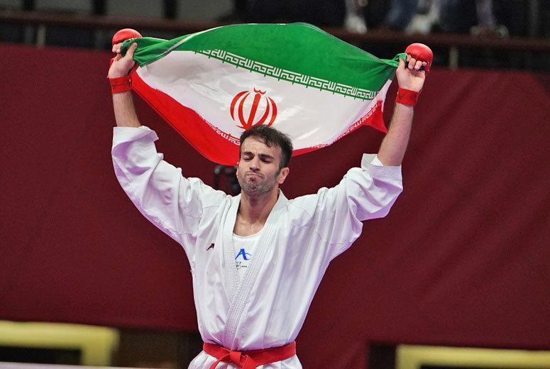 اعلام رنکینگ المپیکی کاراته کاهای تیم ملی
