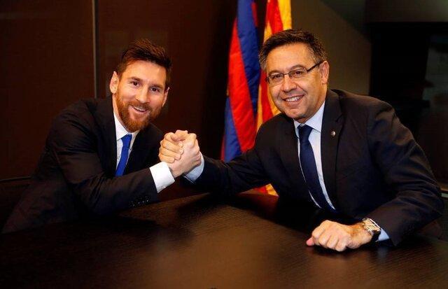 مسی پس از بازنشستگی هم در بارسلونا می ماند