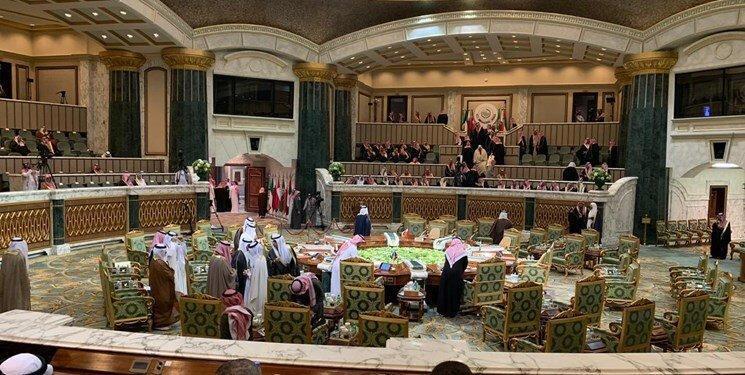 جایگاه های خالی سران عرب در شورای همکاری، عکس