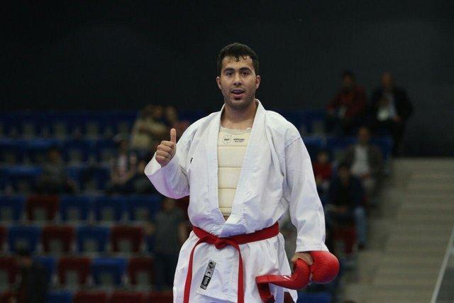 گنج زاده تنها طلایی کاراته مردان در باکو