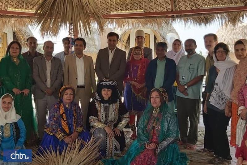 بازدید اعضای گروه صلح و دوستی جای جاگات از جاذبه های گردشگری سیریک