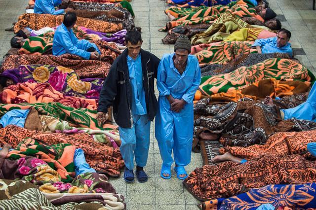 فعالیت 24 ساعته گرمخانه ها در روز برفی پایتخت