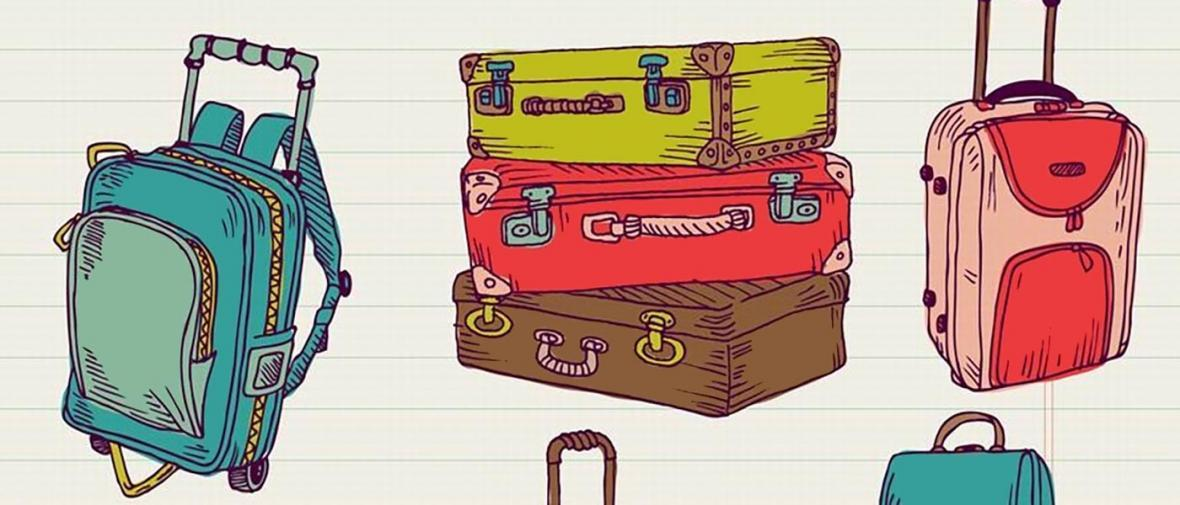 مقایسه چمدان و کوله پشتی