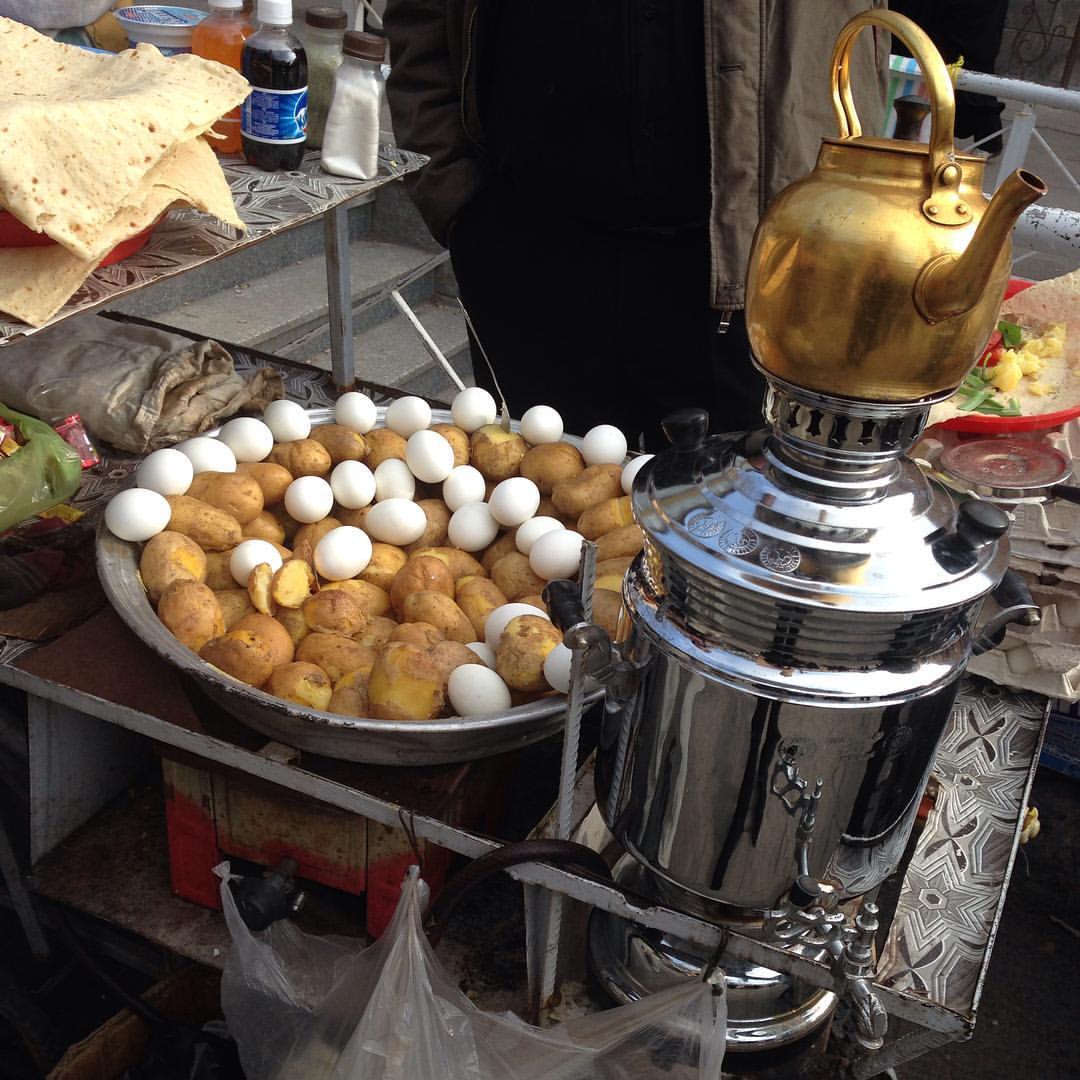 آشنایی با غذاهای خوشمزه خیابانی تبریز