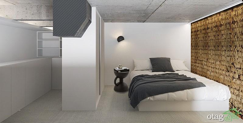6 مدل آپارتمان فوق العاده شیک با اتاق خواب پله دار