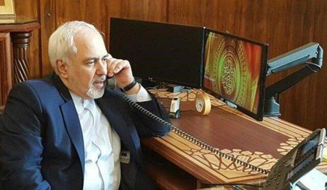 گفت وگوی ظریف با وزیر خارجه عراق