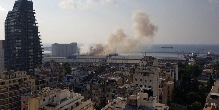 ویدئو ، میزان تخریب ساختمان های بیروت پس از انفجار را ببینید