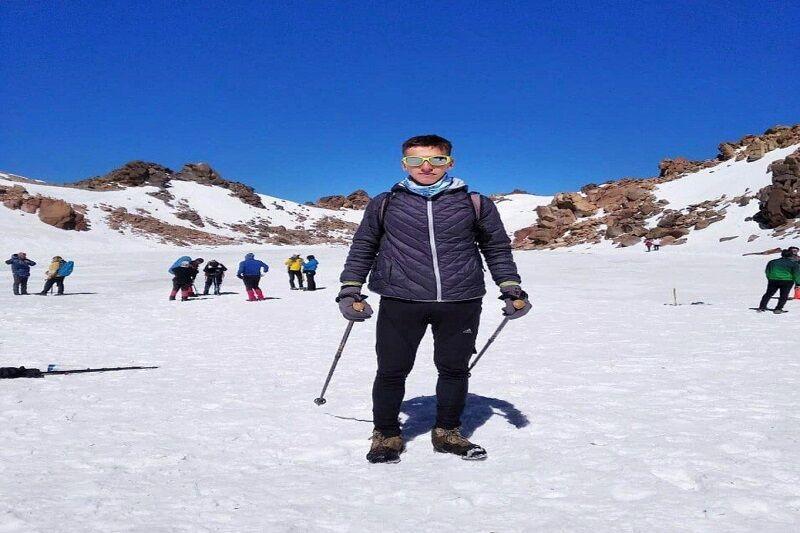 خبرنگاران کوهنورد مهابادی قله سبلان را در بیش از 4 ساعت فتح کرد