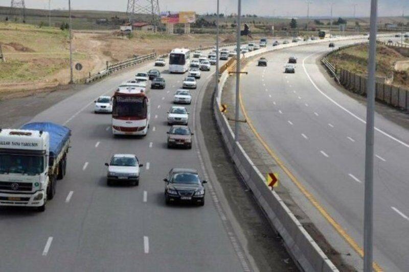 خبرنگاران ورودی اندیمشک از سمت دوکوهه بر روی خودروهای سنگین بسته شد