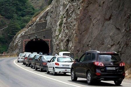 محدودیت ترافیکی در جاده کرج - چالوس درتعطیلات پیش رو