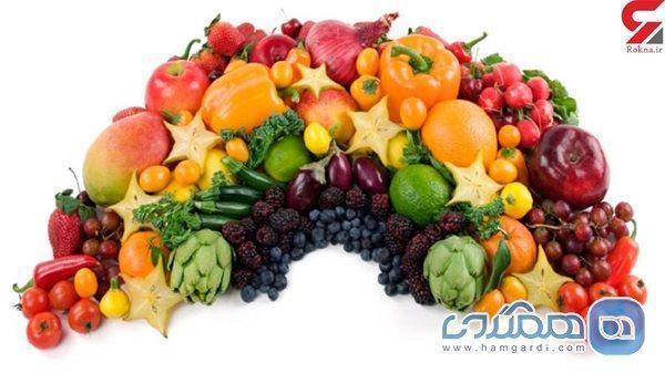 تقویت سیستم ایمنی بدن با رژیم رنگین کمانی