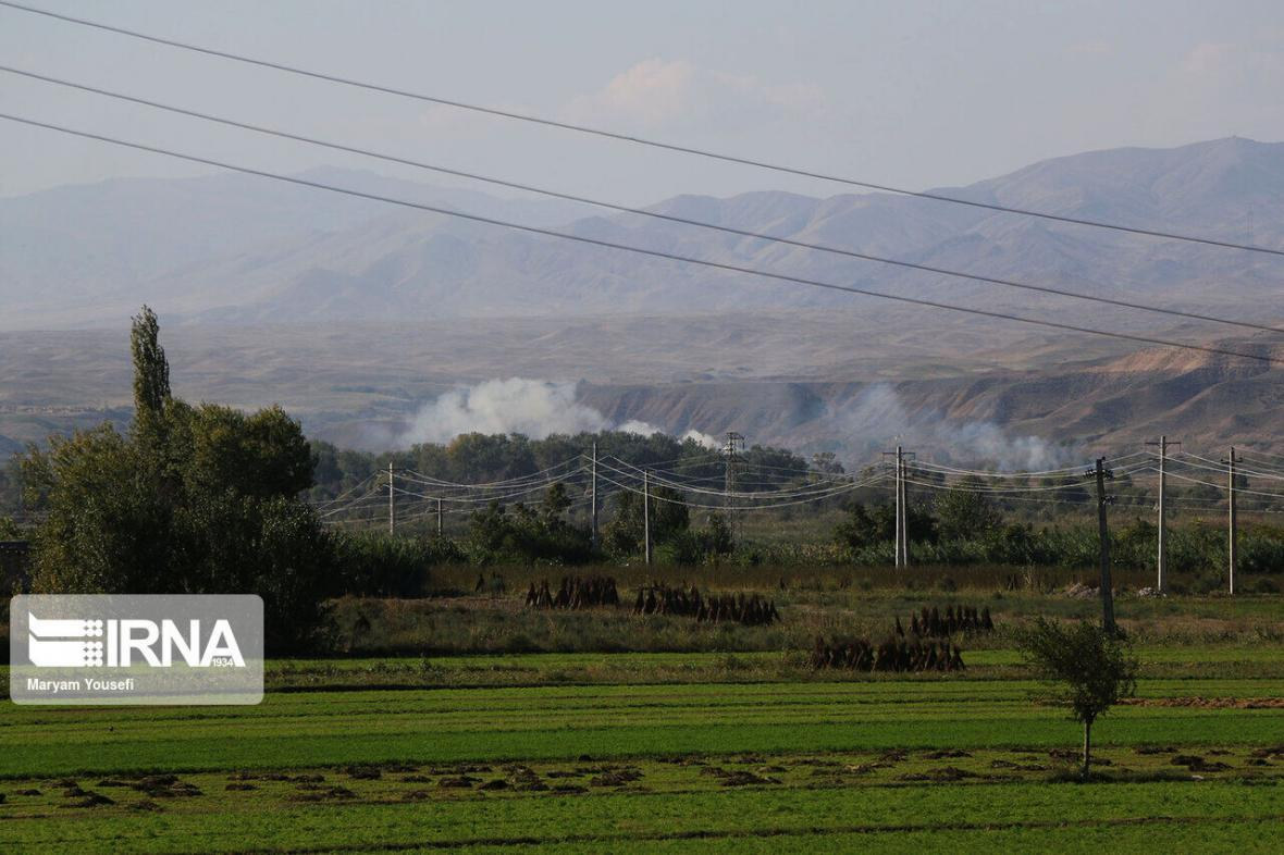 درگیری آذربایجان و ارمنستان به خاک ایران کشیده شد