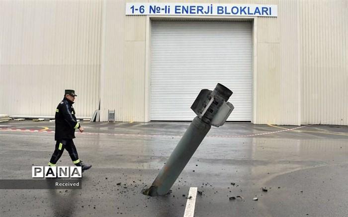 تداوم درگیری نظامی جمهوری آذربایجان و ارمنستان در نزدیکی مرز ایران