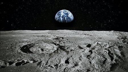میلیارد ها قطعه سنگ از زهره در کره ماه