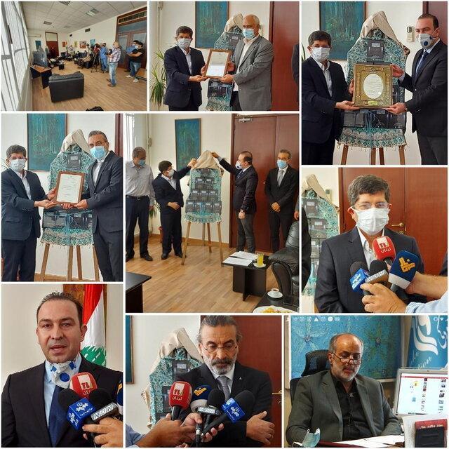 مراسم رونمایی از کلیپ سمفونی بیروت درد تو درد من با حضور وزیر فرهنگ لبنان