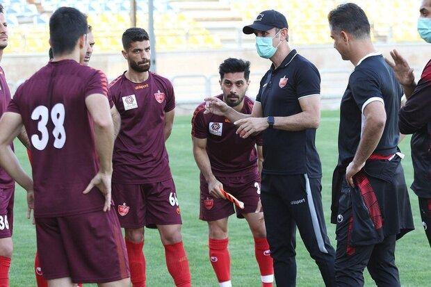صحبت های گل محمدی برای بازیکنان پس از باخت در دیدار تدارکاتی