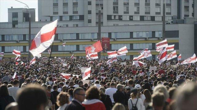 بلاروس: تعداد تظاهرکنندگان به تدریج رو به کاهش است