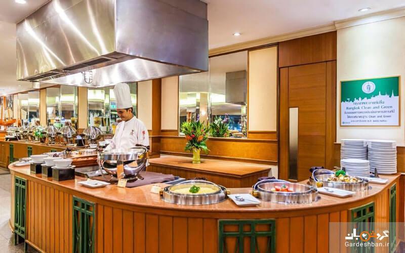 هتل بانکوک پالاس؛ از هتل های با کیفیت و رده بالای شهر، تصاویر