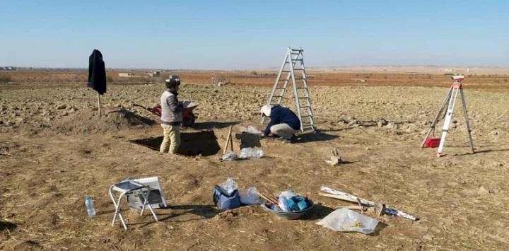آغاز فعالیت لایه نگاری، تعیین عرصه و حریم تپه الله قلی لیلان در شهرستان ملکان