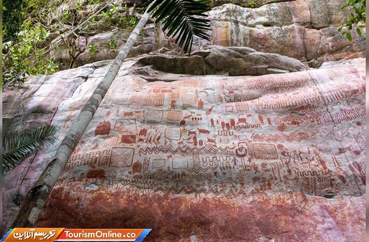 کشف سنگ نگاره بزرگ از حیوانات عصر یخبندان در آمازون