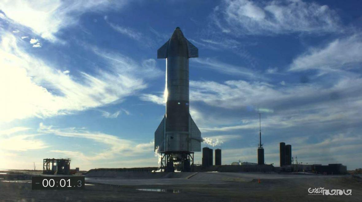انفجار نسخه آزمایشی استارشیپ اسپیس ایکس در هنگام فرود با وجود پرواز پیروز