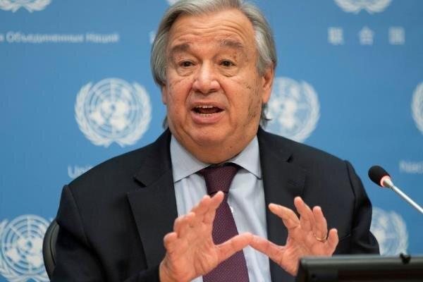 گوترش: رهبران کشورها شرایط اضطراری آب و هوایی اعلام نمایند
