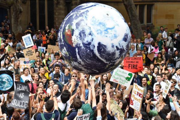 عظیم ترین راهپیمایی جهانی معترضان به تغییرات اقلیمی برگزار گردید