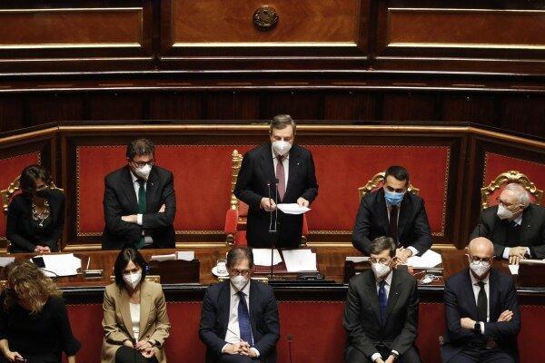 سنای ایتالیا به دولت جدید رأی اعتماد داد