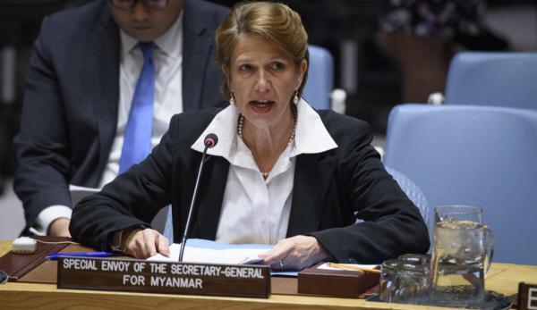 خبرنگاران نماینده سازمان ملل خواهان اقدام فوری در قبال تحولات میانمار شد