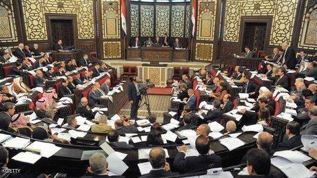 پیغام مجلس سوریه به اسد