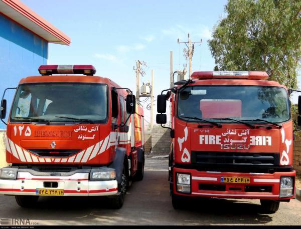 خبرنگاران 210 عملیات آتش نشانی در گتوند اجرا شد